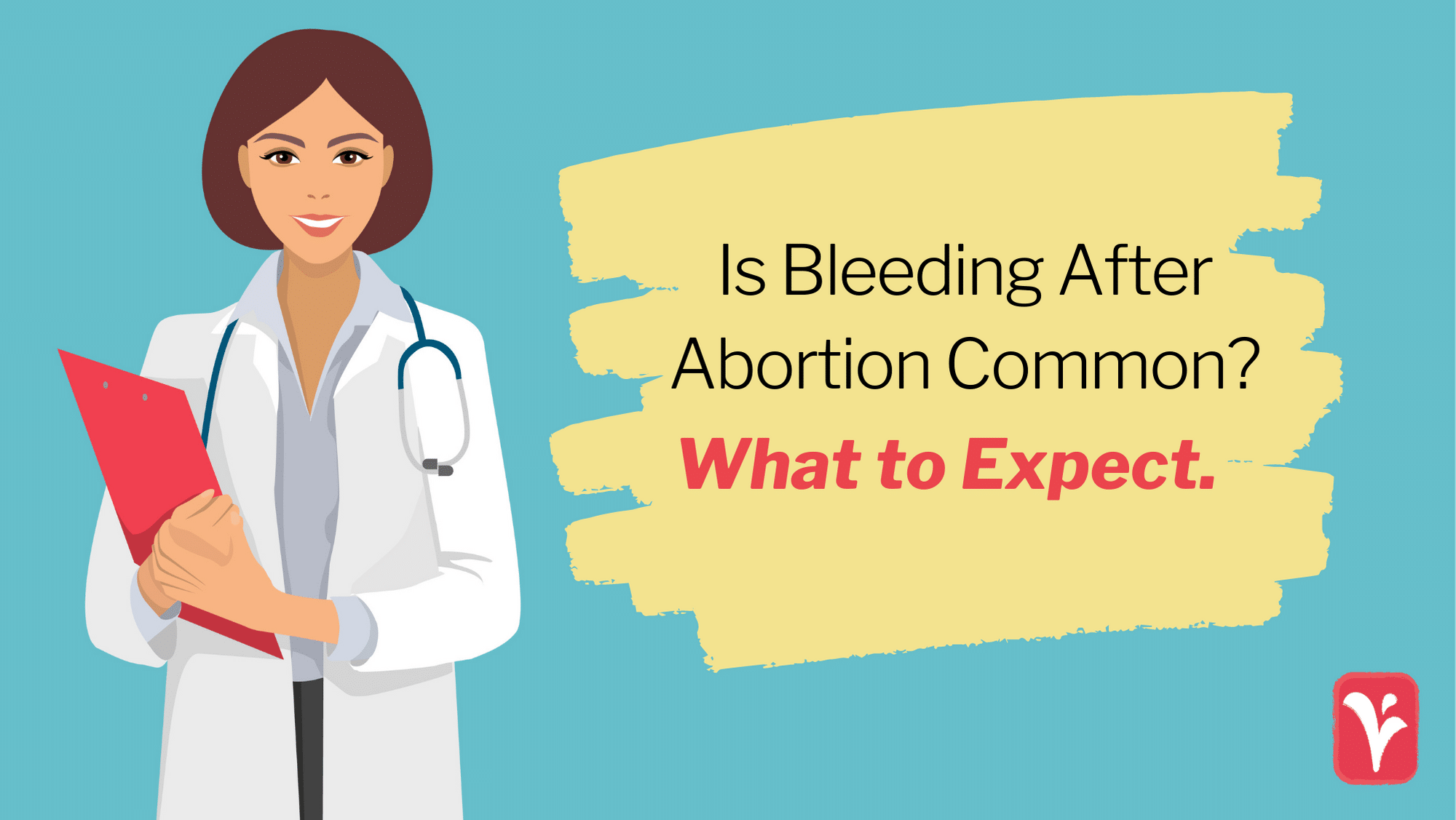 bleeding after abortion