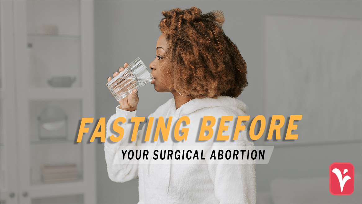 what happens if I eat before an abortion